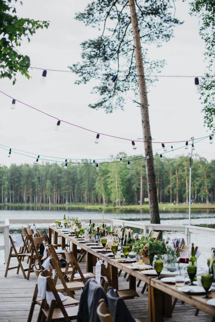 bridalmonthly.com backyard wedding reception